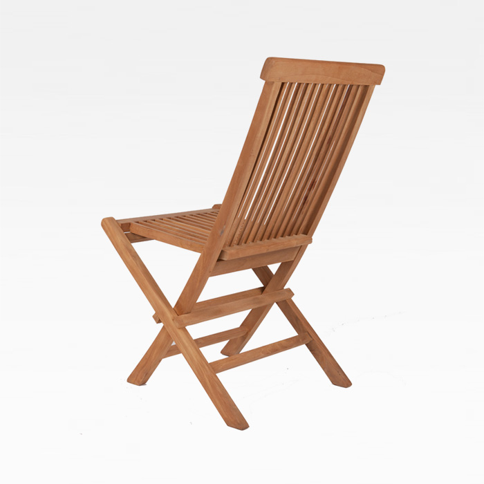 HVW 티크목 접이식 의자 야외가능