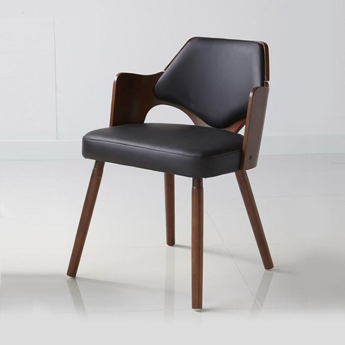 IGW-125/원목 식탁 의자 카페 디자인 체어