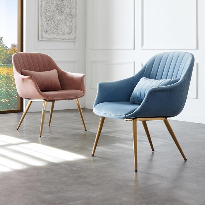 IG 로제/인테리어 카페 식탁 의자 골드 디자인 체어