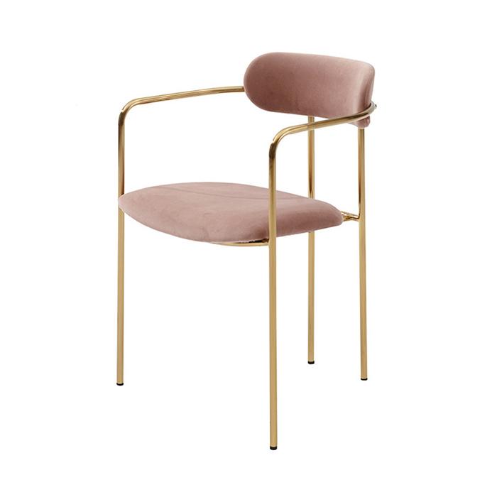 IGI-022/인테리어 카페 식탁 의자 골드 디자인 체어