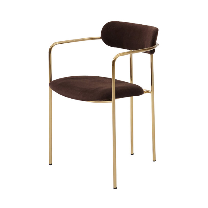 IGI-022/카페 식탁 의자 골드 디자인 체어