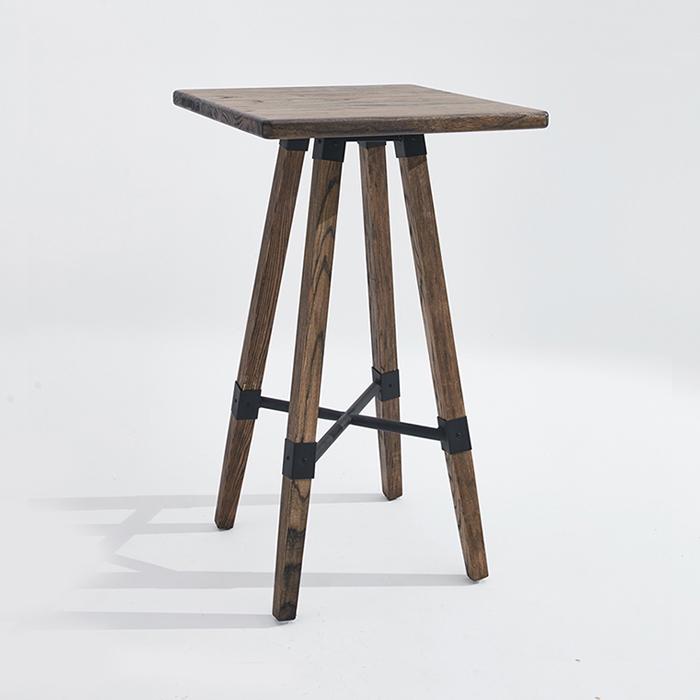 IGT-002/바테이블 아일랜드 원목 카페 디자인 테이블