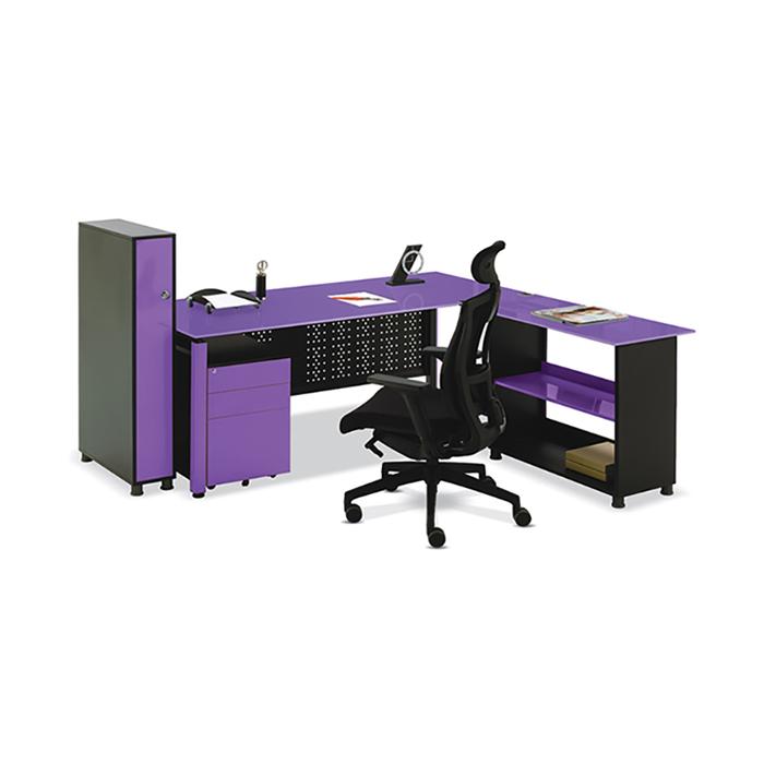 MB1 강화 유리 책상/ 사무용 컴퓨터 사무실 서재 가구