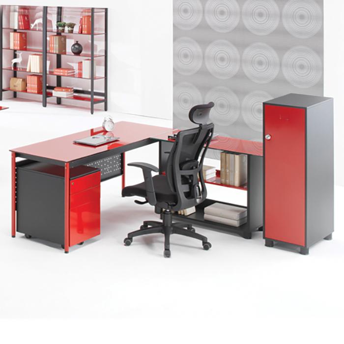 MB2 강화 유리 책상/ 사무용 컴퓨터 사무실 서재 가구