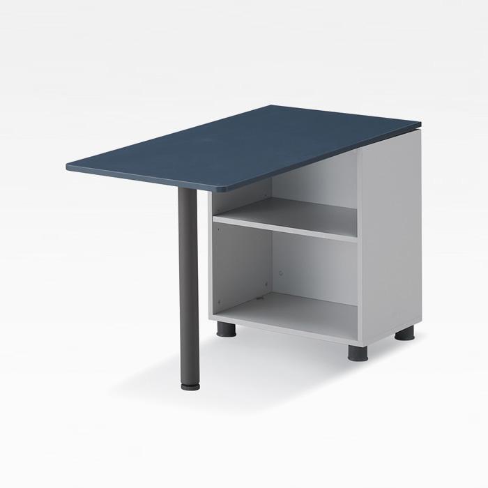 디셀 U형 독립형 보조테이블