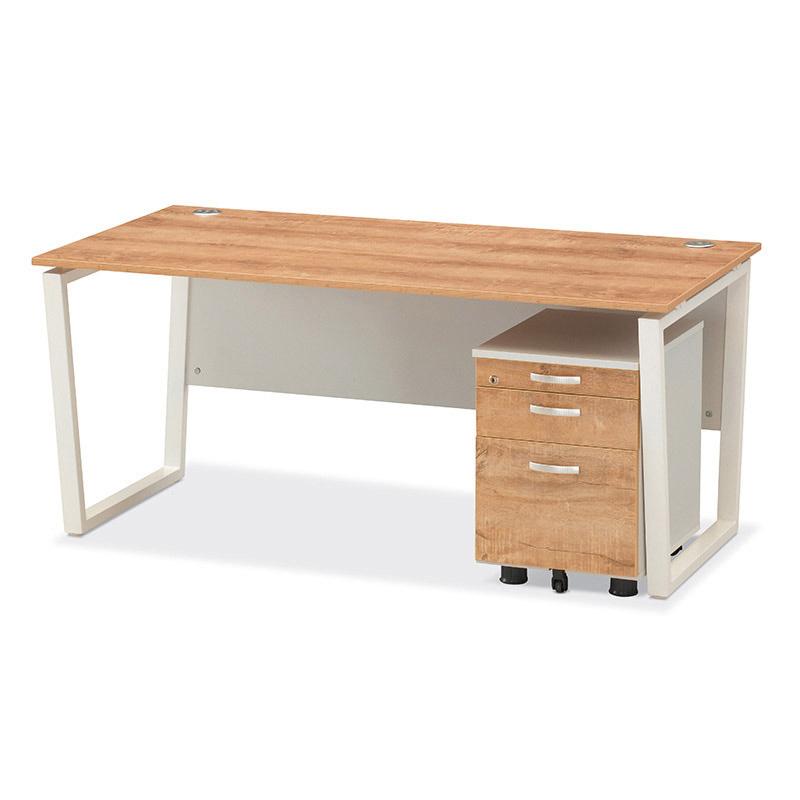 멜론 일자형 책상 D600 수입
