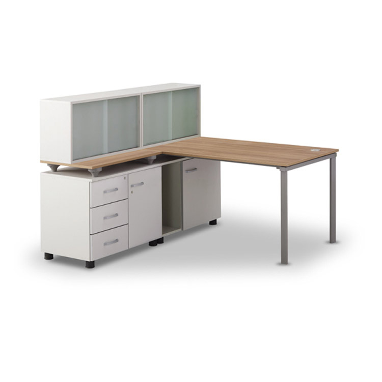 T-SF 책상 세트Ⅲ/사무용 컴퓨터 1인 서랍장 사이드장