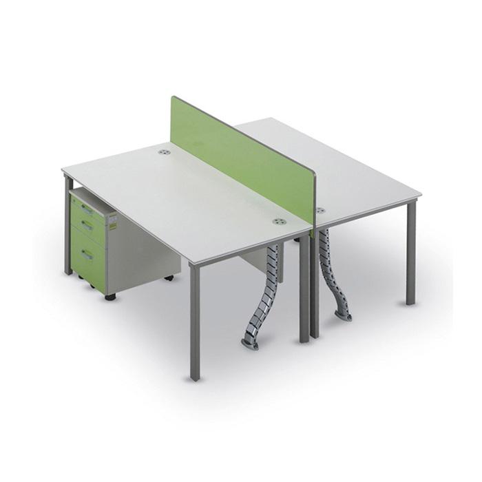 T-SF 책상 세트/ 사무용 컴퓨터 2인 서랍장 사이드장