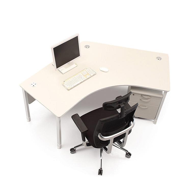 120도 책상 세트 1인/ 사무용 컴퓨터 테이블 파티션