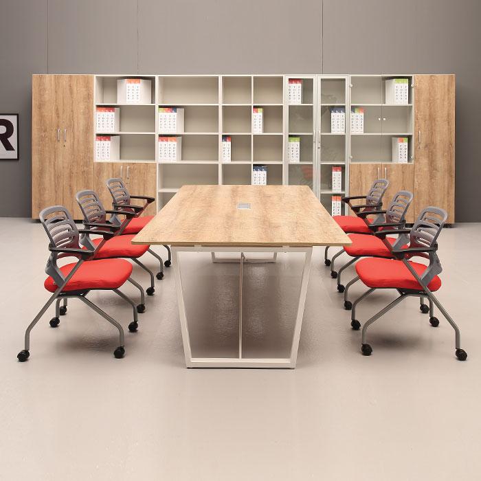 멜론 사각 회의용 테이블 수입