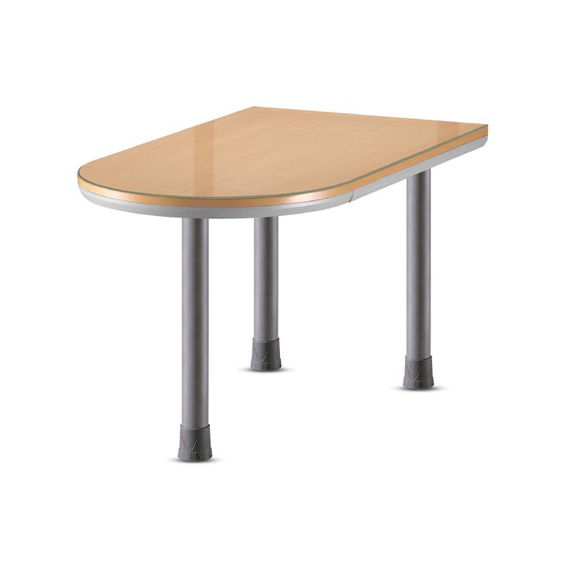CMD U형 테이블 02/ 사무용 이동식 책상 사무실 보조