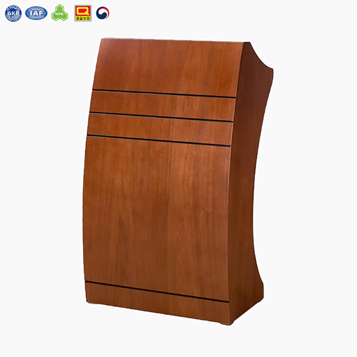 ODT-1350 라인 강연대 (월넛/오크천연무늬목)