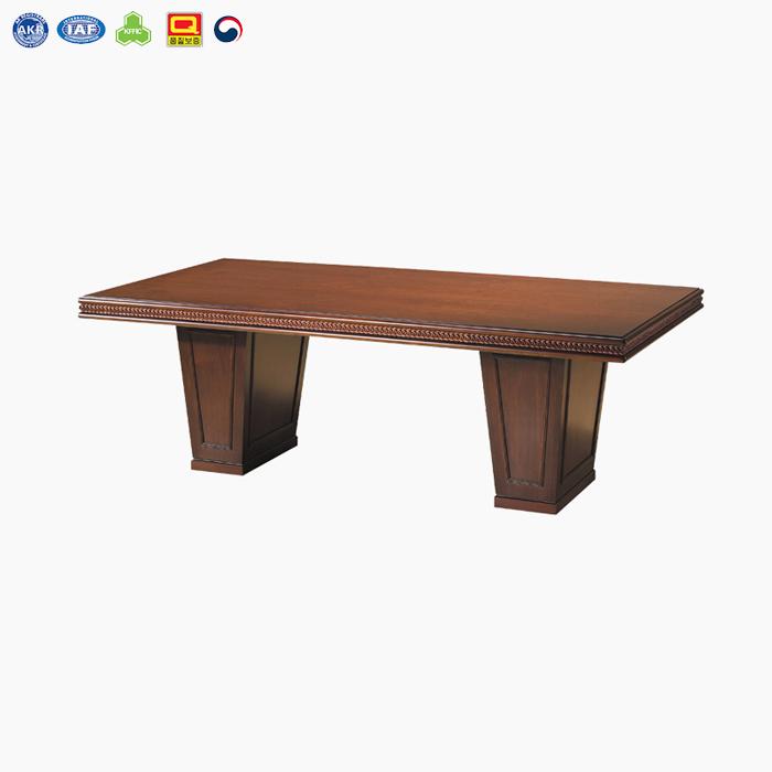 ODT-4800 중역용 회의용 테이블 (월넛천연무늬목)