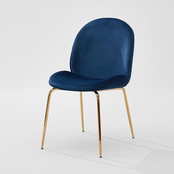 OIG-506 벨벳 골드 의자