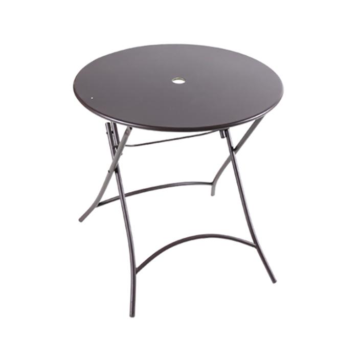 OIT-754 철재 테이블 (파라솔타공) 야외가능