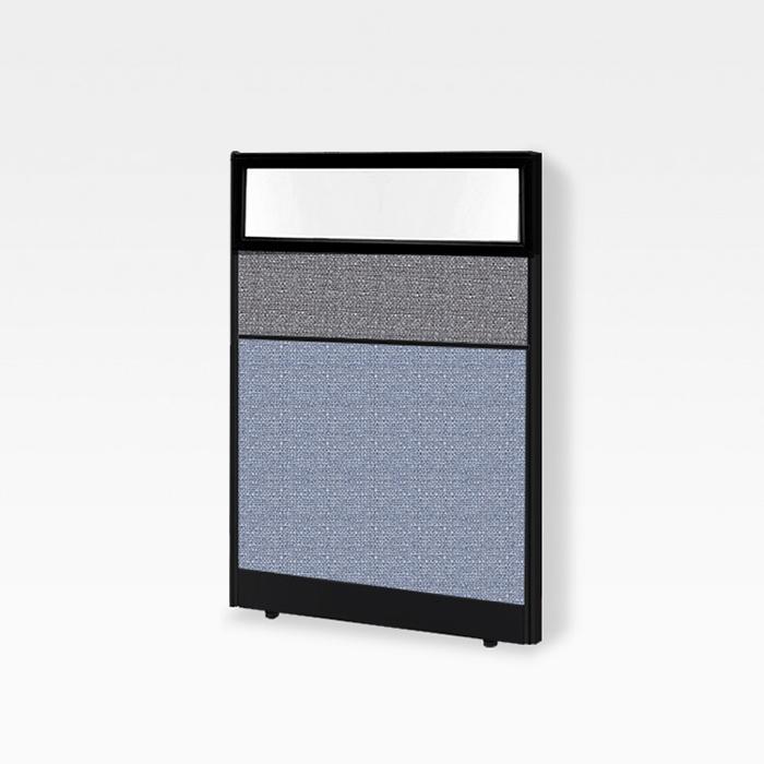 45T PVC 칼라 유리파티션(H1800)