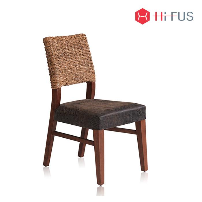 하이퍼스 HFC-2108 무크 라탄 체어/카페 식탁 의자