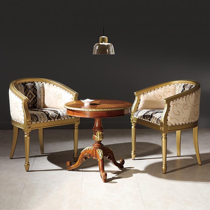 하이퍼스 HFC-7776G 랍소 체어 골드/원목 식탁 의자