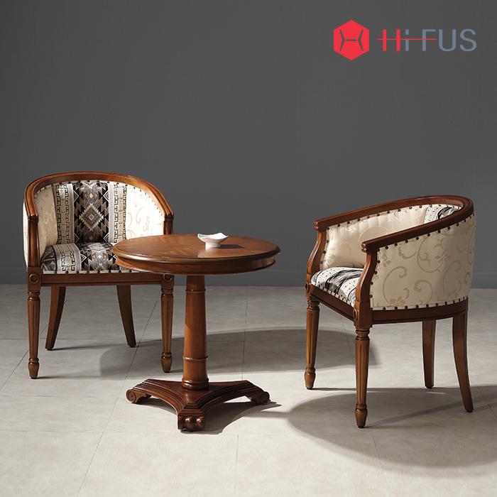 하이퍼스 HFC-7776W 랍소 체어 월넛/원목 식탁 의자