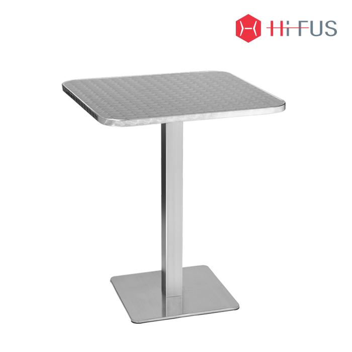 HFT-5667 베블 스텐 사각 테이블 시리즈