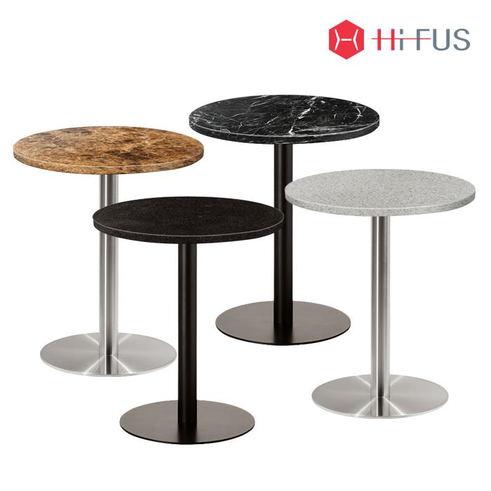 HFT-6060A,6060B,6060C,6060D 대리석 원형테이블 조합형