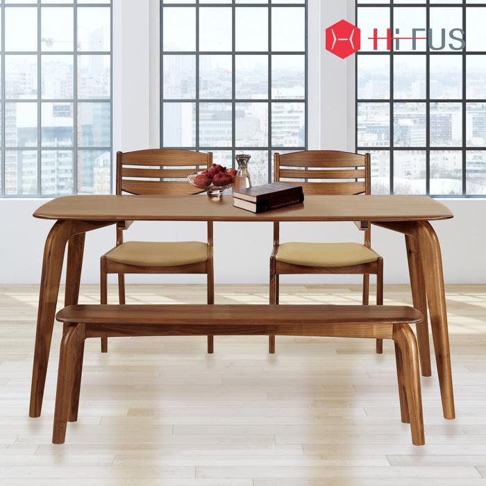 HFT-8811 실비오 식탁 시리즈 (호두나무원목)