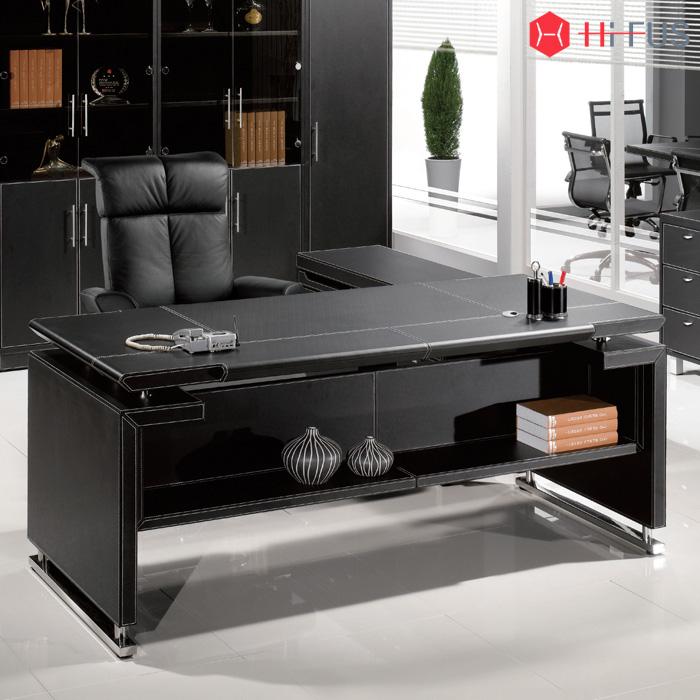 LD-011/ 사무용 컴퓨터 중역 가죽 책상 테이블 서재