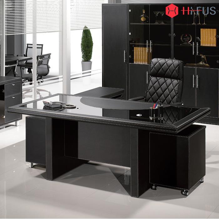 LD-033/ 사무용 컴퓨터 중역 가죽 책상 테이블 서재