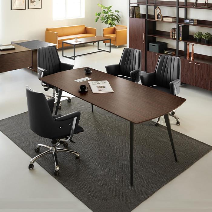 ELT-911 흑단 마이스터 회의용 탁자(원톤)
