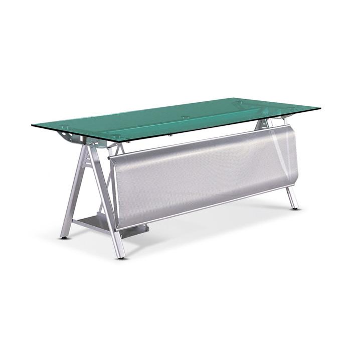 GSD-610 연그린 유리 책상 기본형