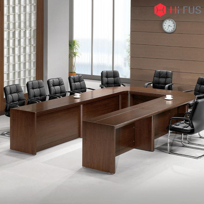 w/EUT 연결식(조합형) 회의용 탁자 투라인 (ㄷ자형)