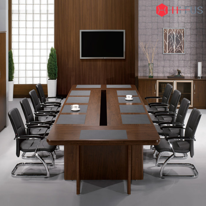 WYT 연결식(조합형) 회의용 탁자 패드형 (-자형) - 배선타입