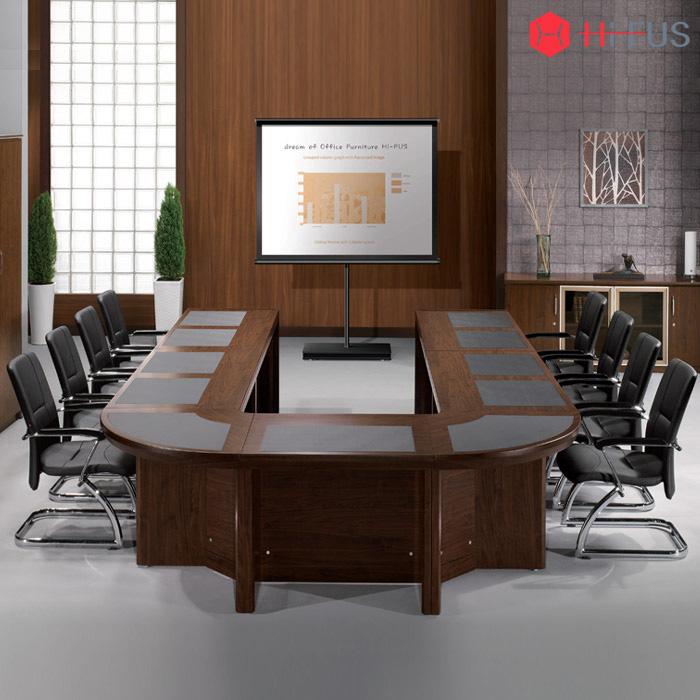 WYT 연결식(조합형) 회의용 탁자 패드형 (ㄷ자형)