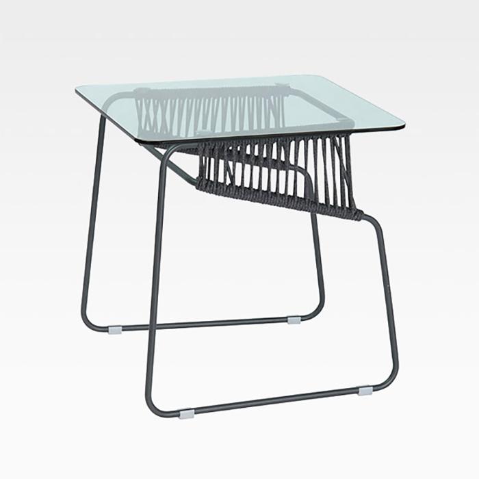 PDT-03/유리 테이블 야외용 카페 테라스 인테리어