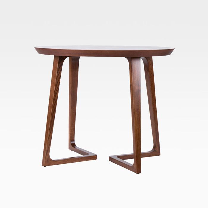PDT-119(원형)/목재 테이블 카페 식당 인테리어 식탁