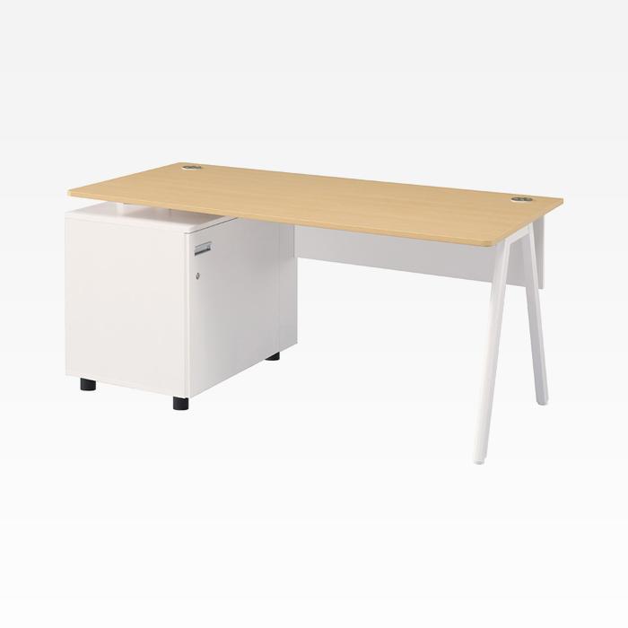 에펠 W1400 책상 L형 세트