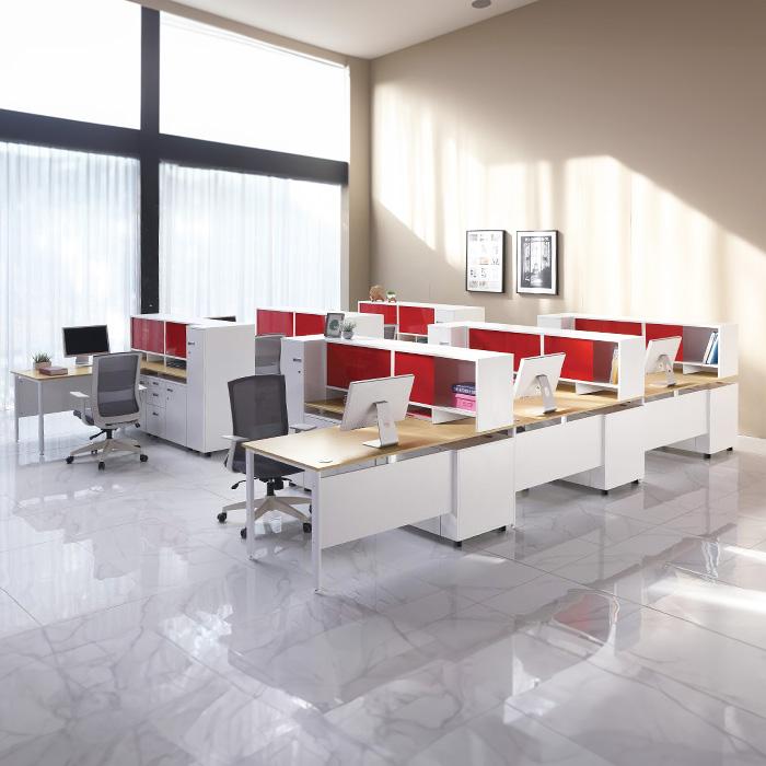 PE-5305 다온 일자 W1800 책상 가림판유