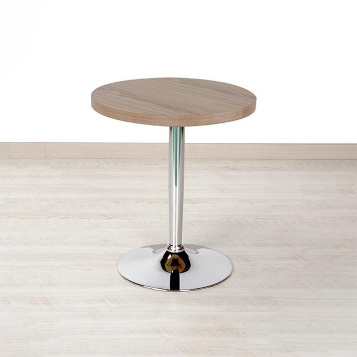 PIT-709 무늬목 크롬 철재테이블