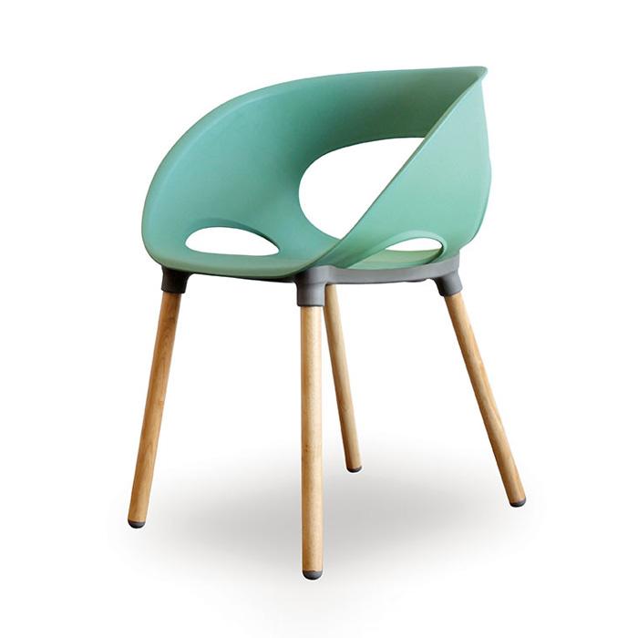 PK 스마일/인테리어 의자 플라스틱 예쁜 카페 체어