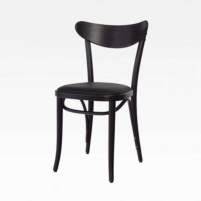 ZA 바나나 PU/원목 식탁 의자 인테리어 카페 체어