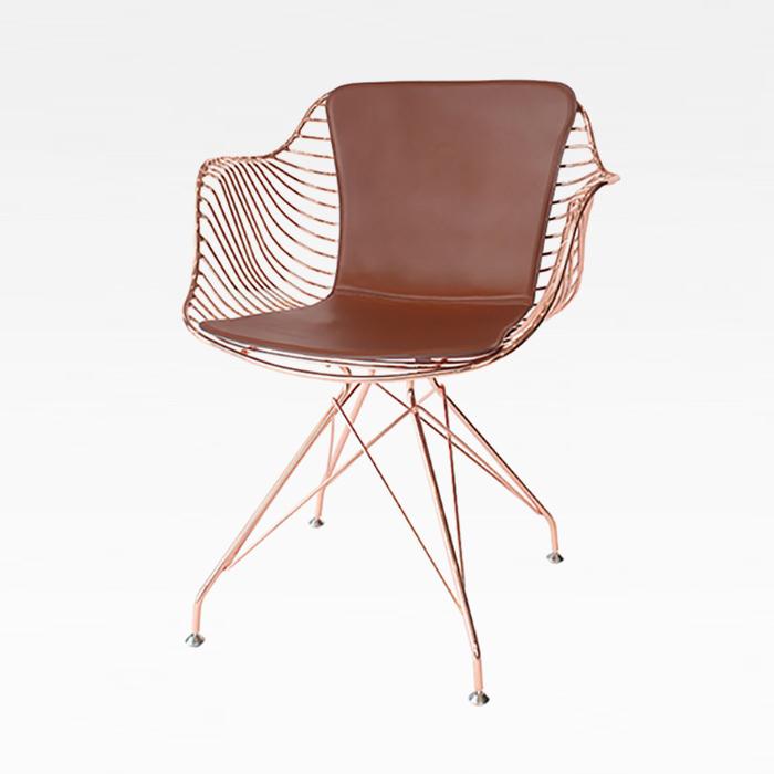 ZA 아테네/인테리어 디자인 의자 철제 카페 메탈 체어