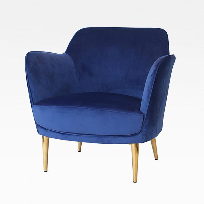 ZA 맨해튼라운지/인테리어 디자인 의자 골드 체어