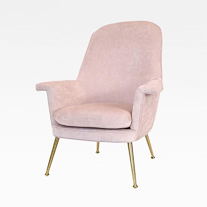 ZA 줄리/인테리어 소파 의자 카페 디자인 골드 체어