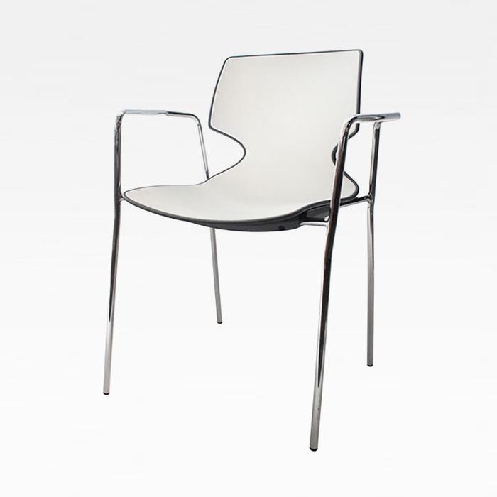 ZA 쉴드/인테리어 의자 플라스틱 예쁜 카페 암 체어