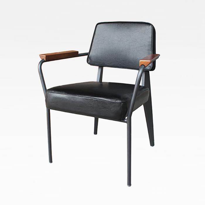 ZA 도브/인테리어 식탁 의자 스틸 팔걸이 암 체어