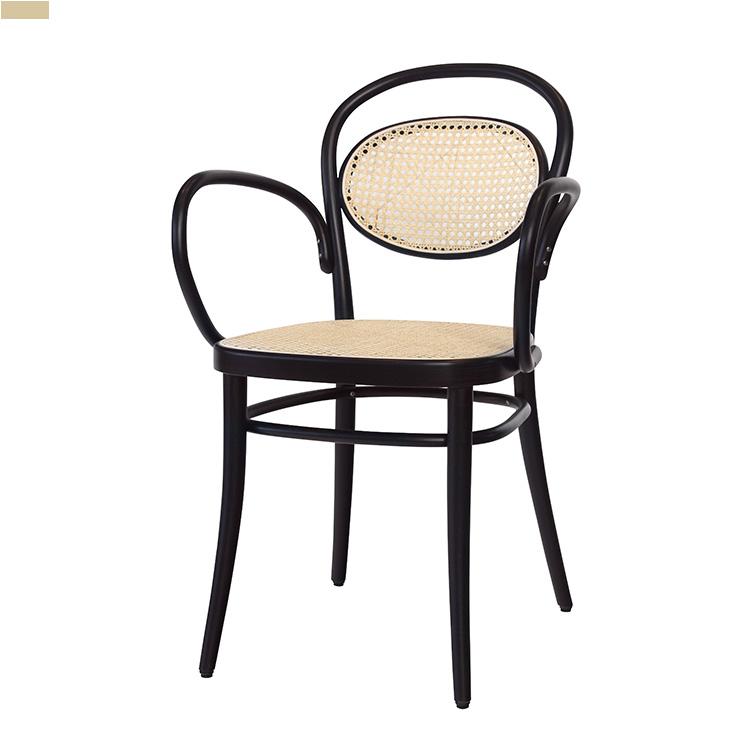 ZA 미카엘/인테리어 원목 식탁 의자 카페 디자인 체어 라탄